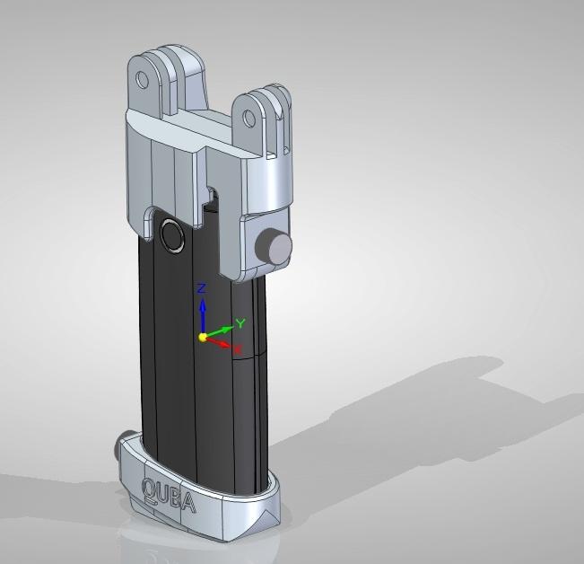 Ручка-акумулятор модульная, для GoPro