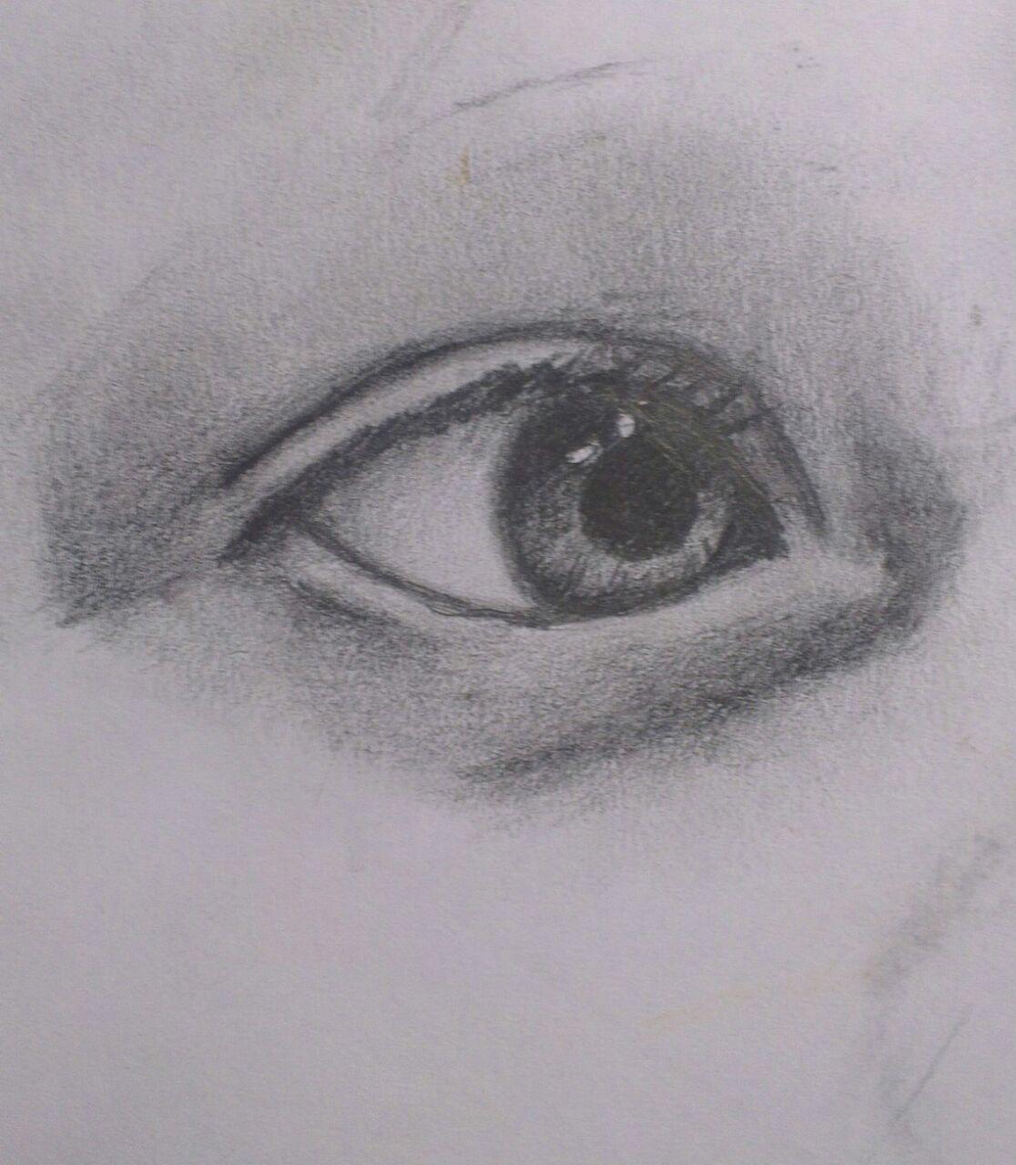 Глаз сына
