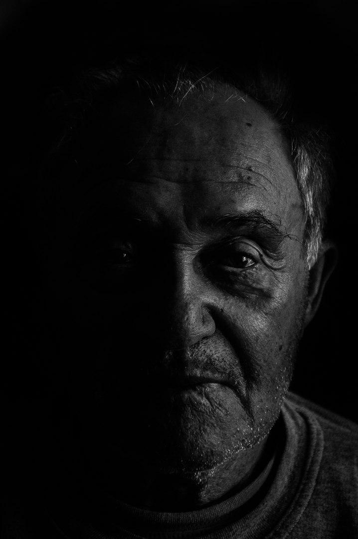 Grandfather bw
