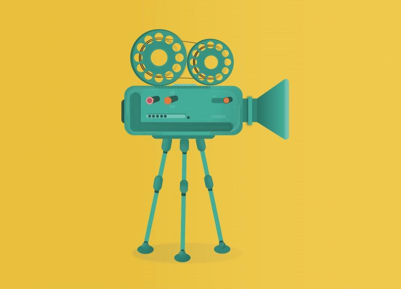 Видеокамера вектор