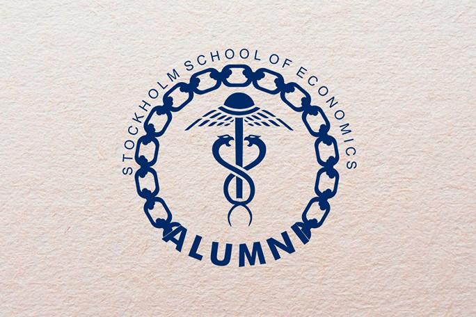 Логотип для выпускников Стокгольмской Школы Экономики