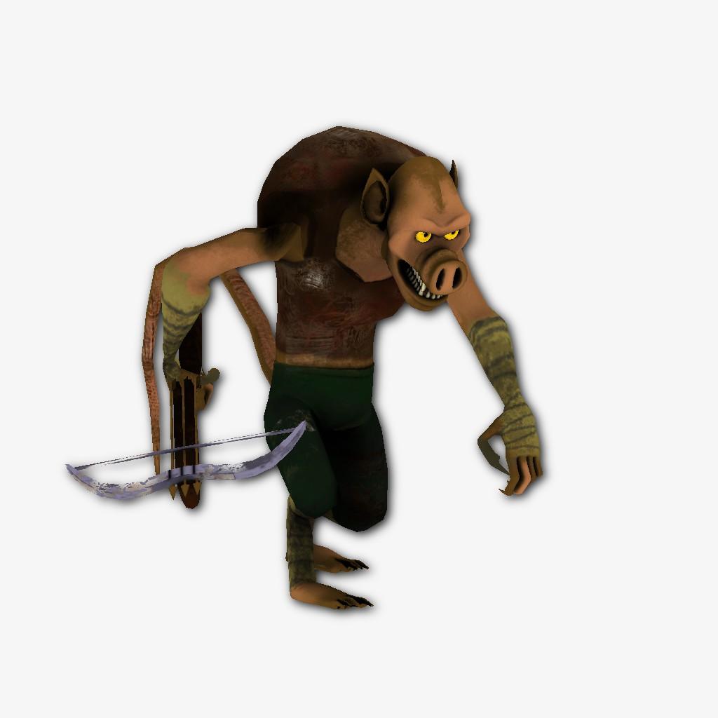 Персонаж для игры- Кобольд