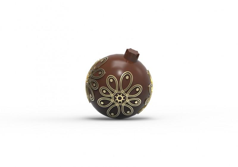 Новогодний шарик (шоколад)