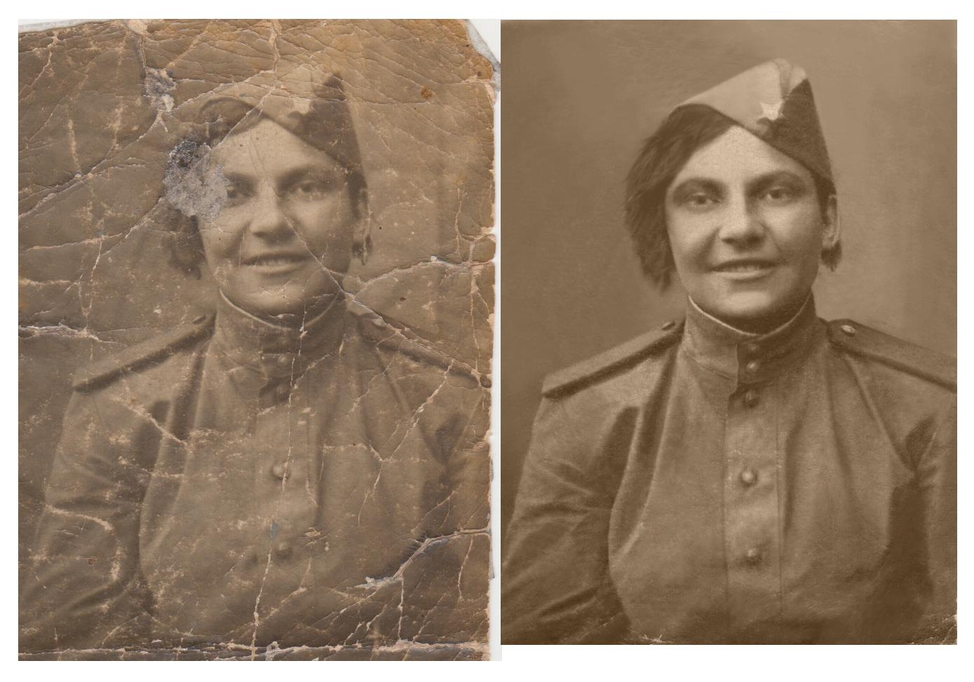 оба произведения, как ретушировать старые фотографии требует