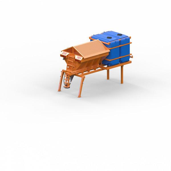 Моделирование коммунальной техники для сайта компании.