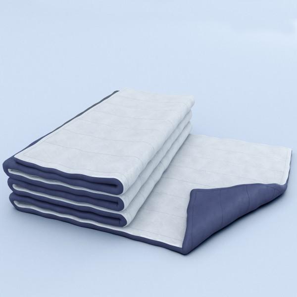 Прошитое двухстороннее одеяло для утепления.