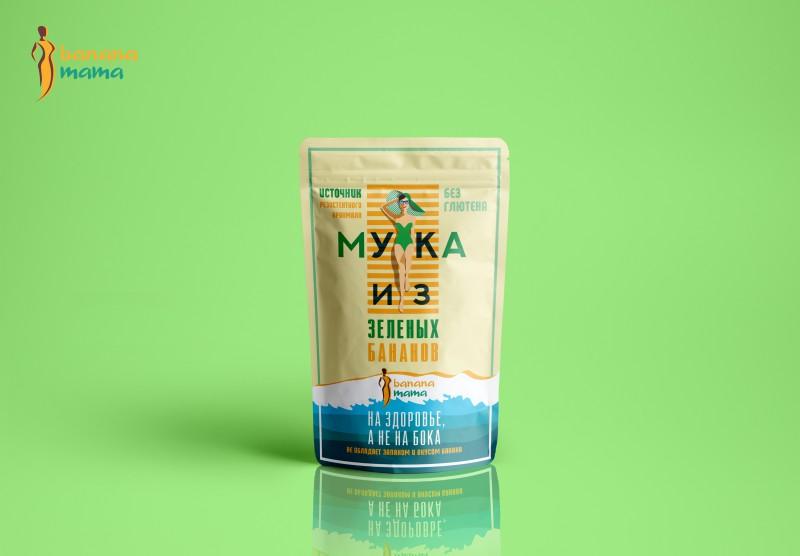 """Упаковка для бренда """"Banana Mama"""