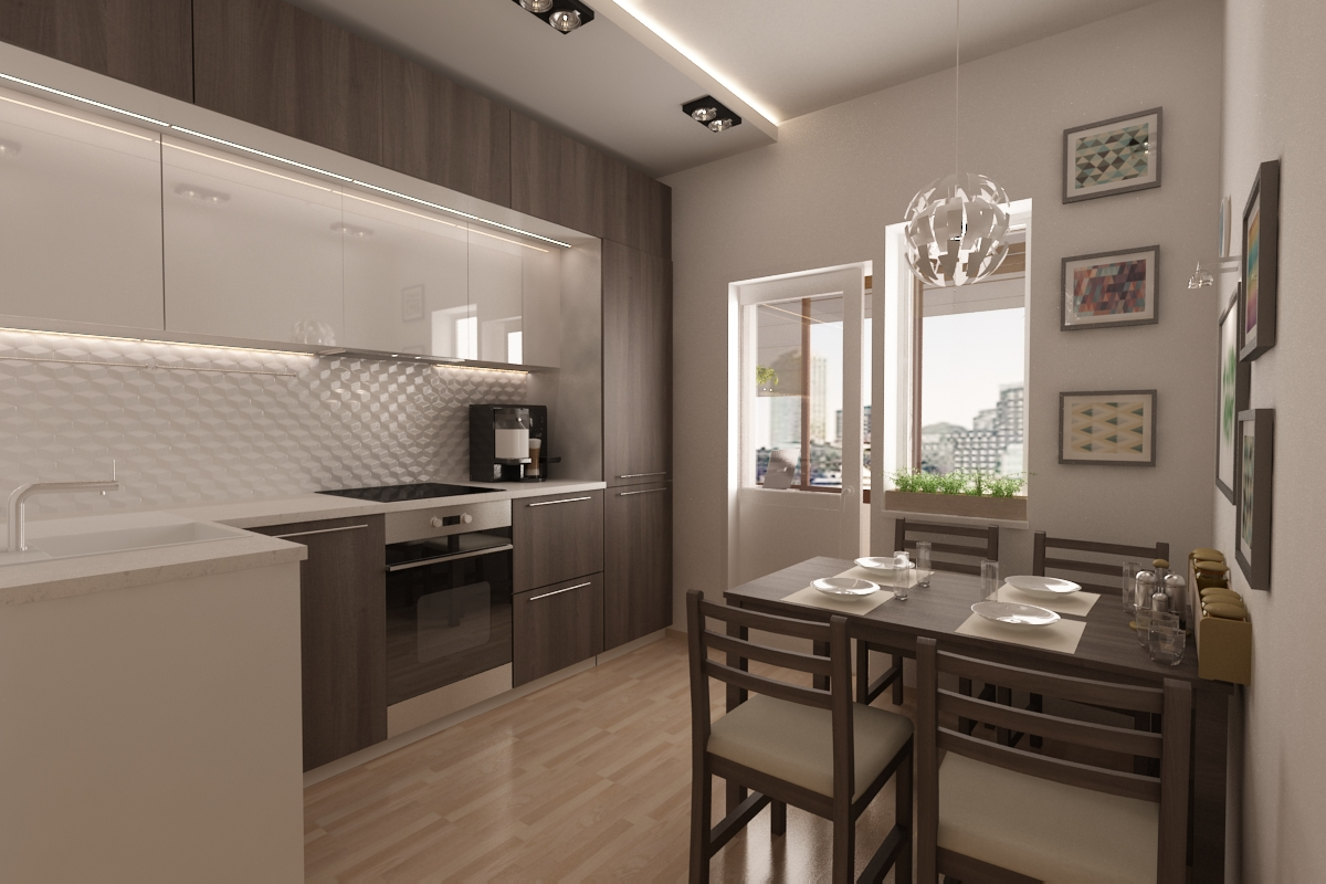 проект кухни дизайн фото