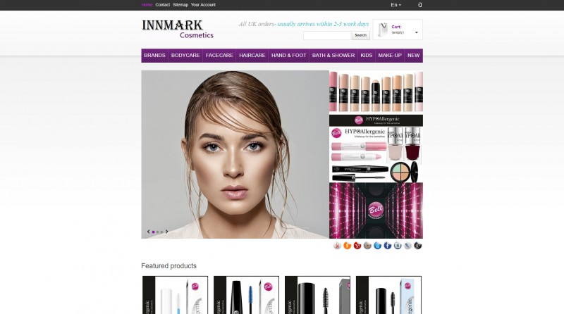 "Интернет-магазин ""Inmark Cosmetics"""