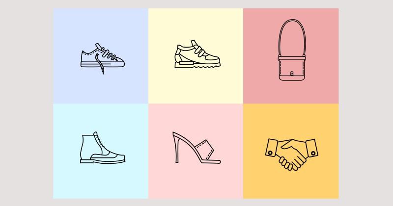 Иконки для сайта обувного предприятия Марко.