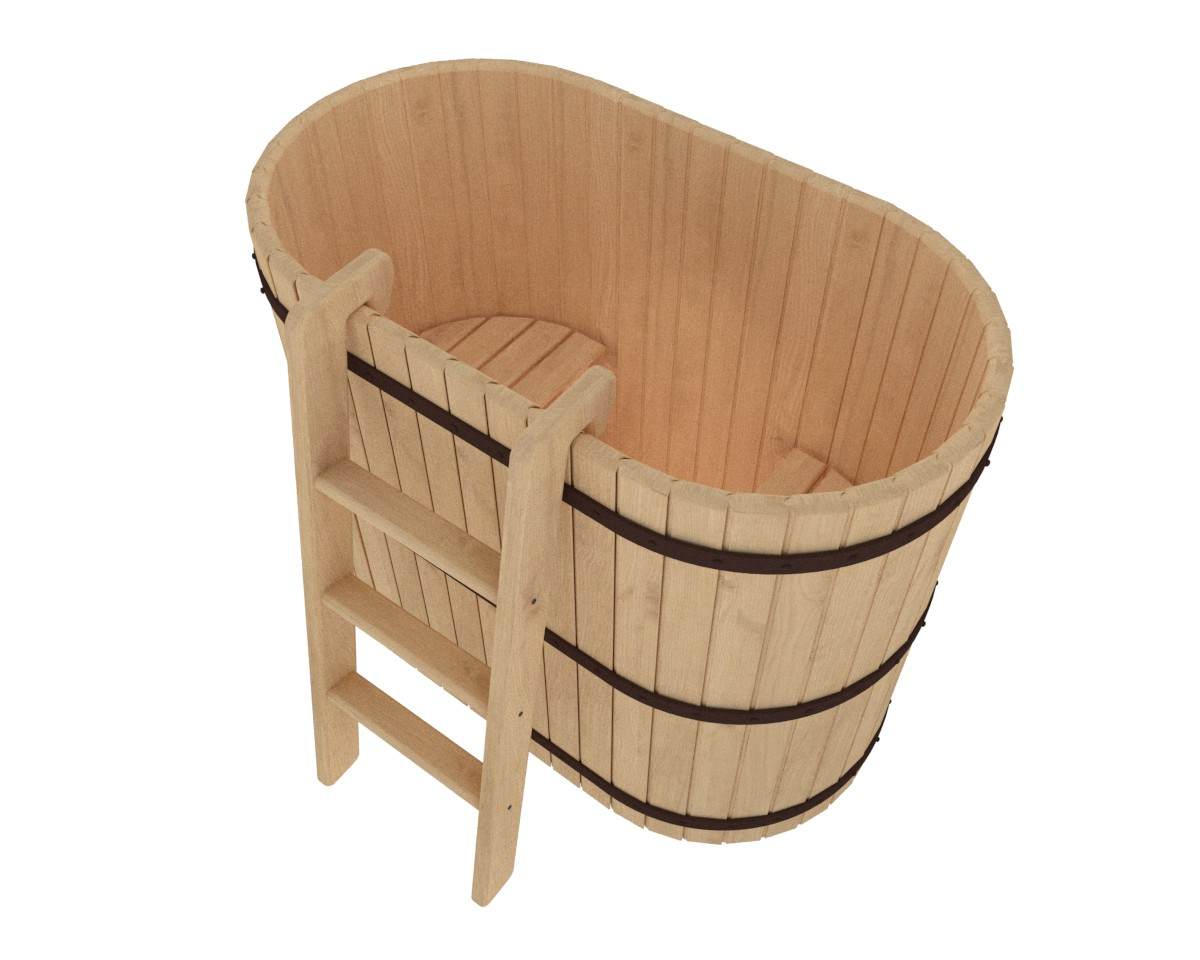 Купель деревянная