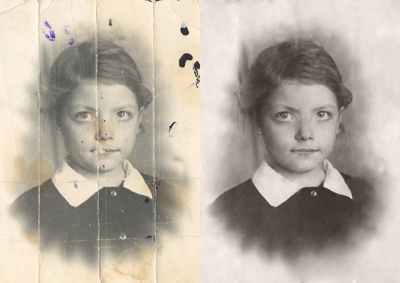 Приемы реставрации старых фотографий