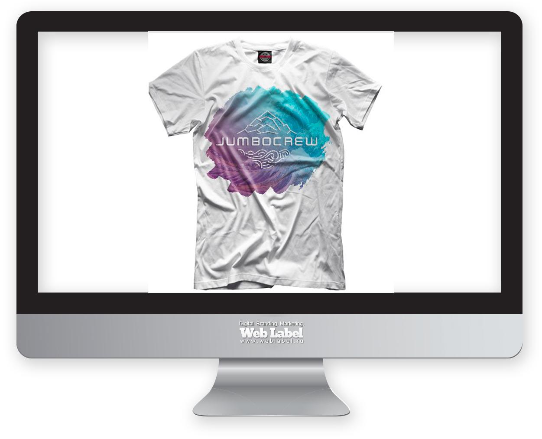 Дизайн футболки для школы сноуборда и серфнга