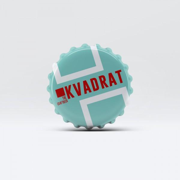 "Bottle Cap ""KVADRAT""."
