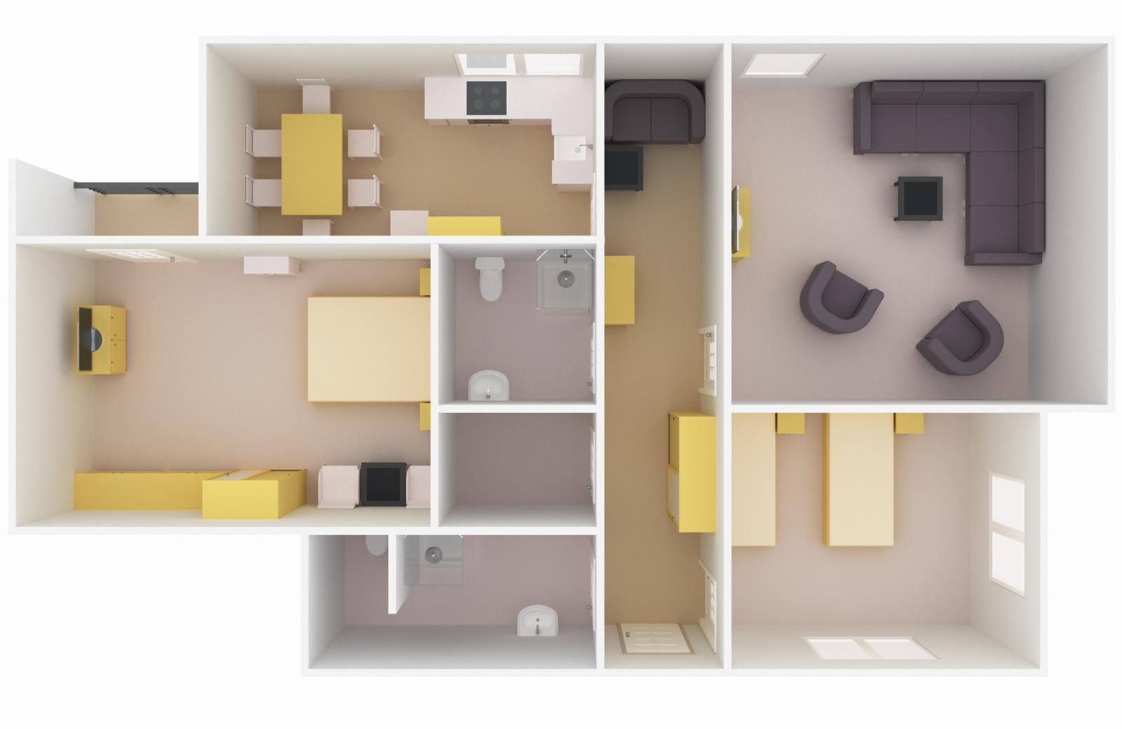 План помещения 3d