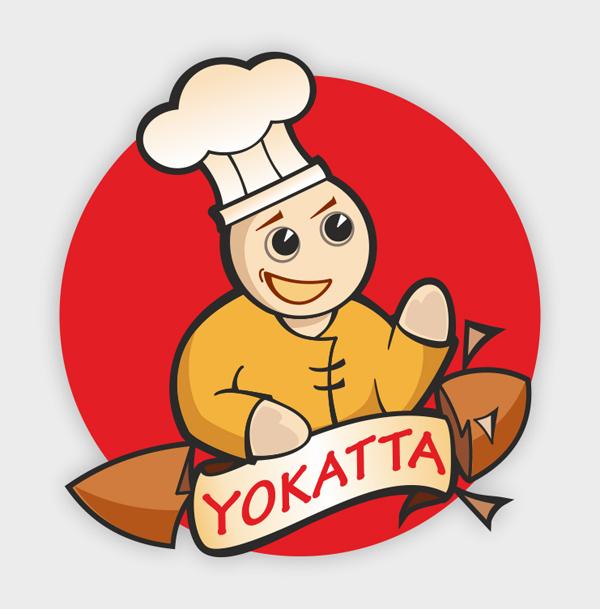 Доработка логотипа. Японская кухня