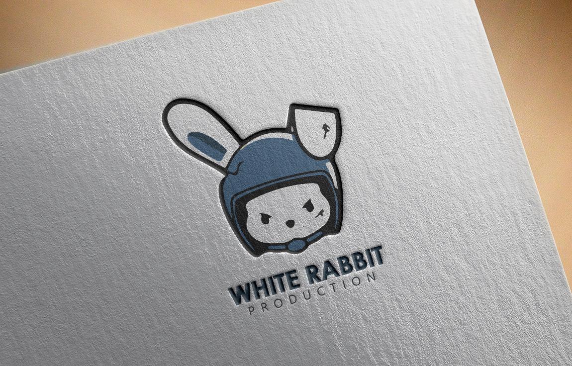 Логотип для телевизионной компании White Rabbit