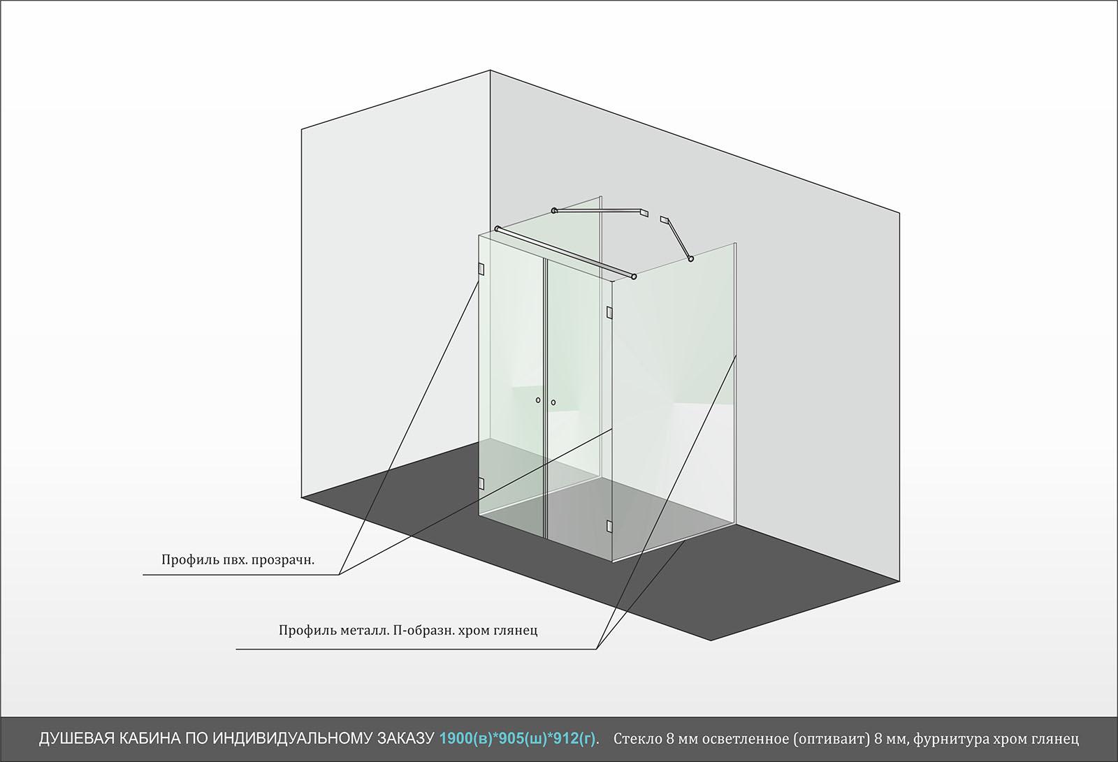Дизайн-проект душевой кабины