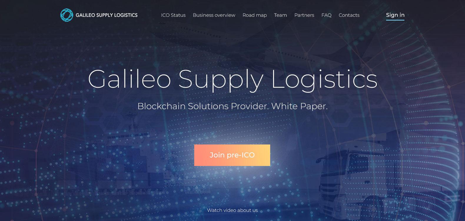 Galileo ICO
