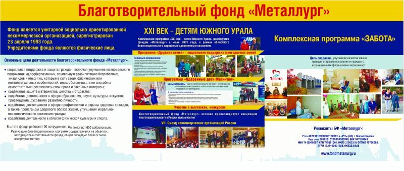 Баннер фонда для Съезда НКО