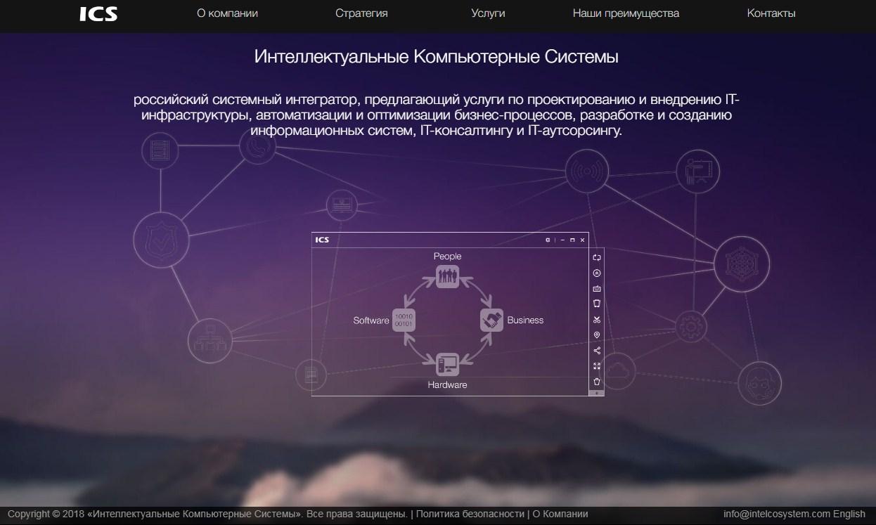 Создание простого сайта-визитки