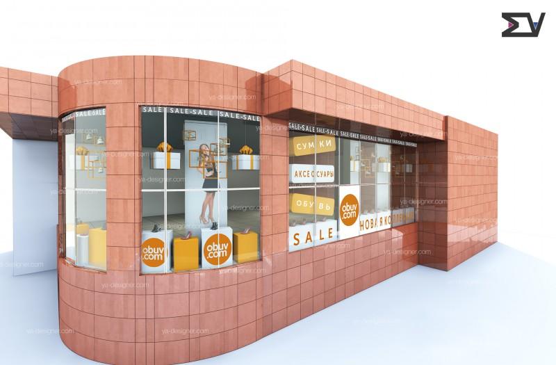 #Дизайн-витрины-магазин_обуви#