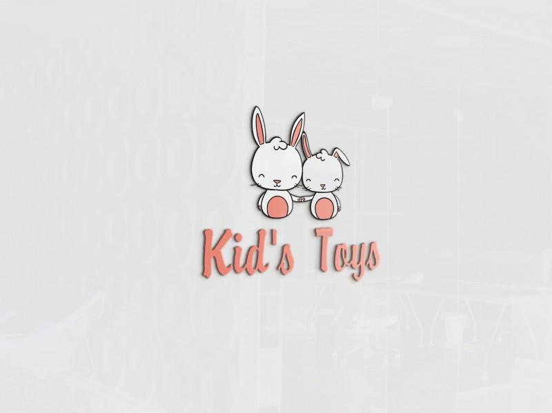 "Логотип для магазина детских подарков ""Kid's Toys"""