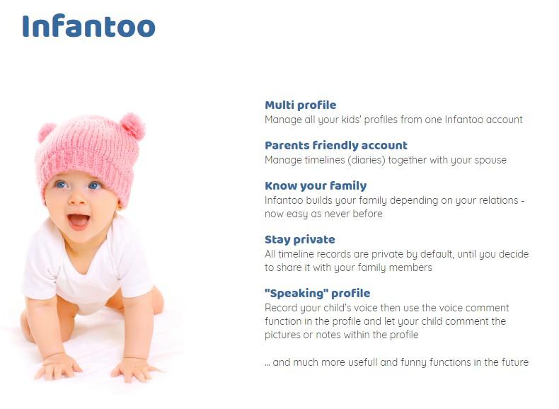 Презентационный текст и статья для веб-портала Infantoo