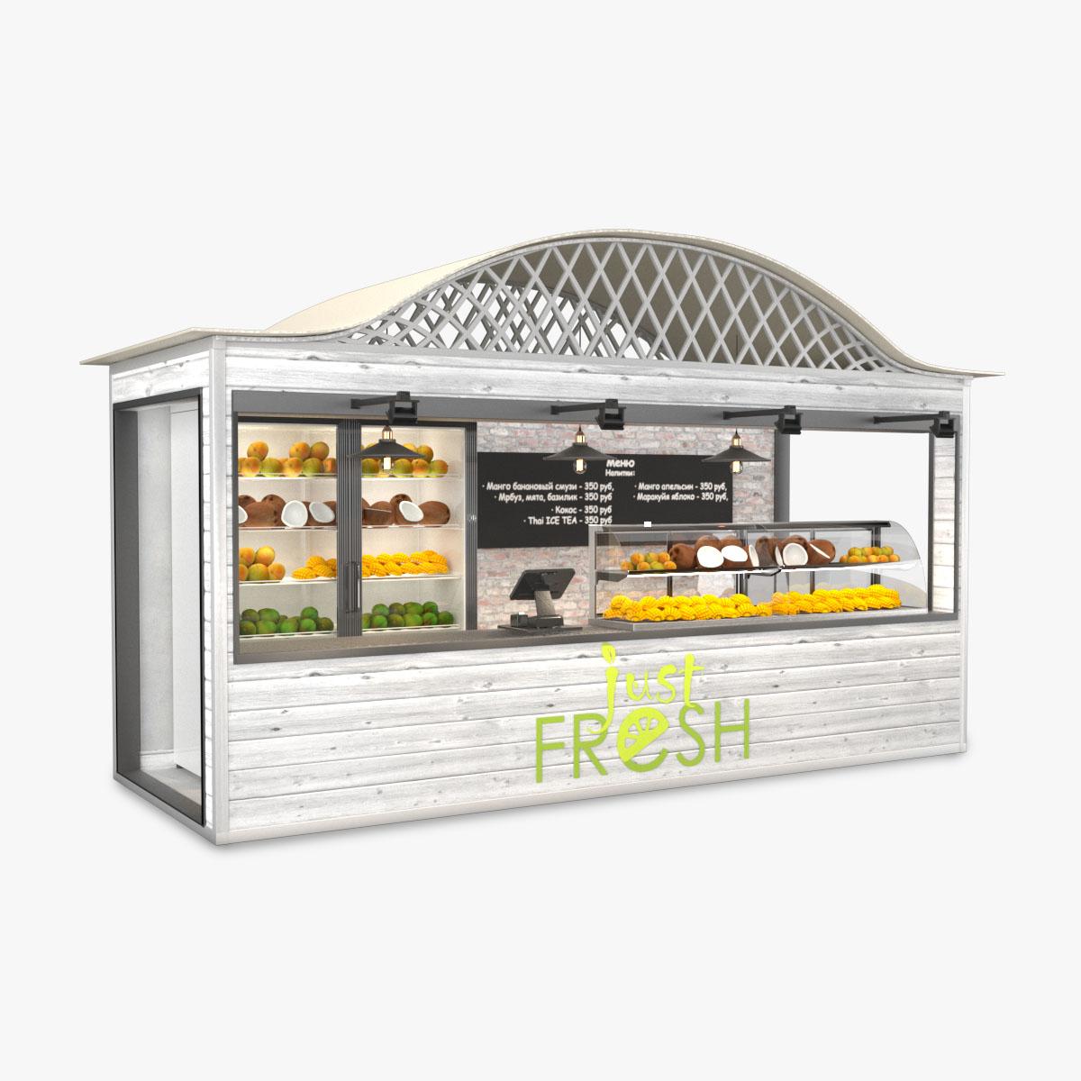 "Fruit Store ""Just Fresh"""