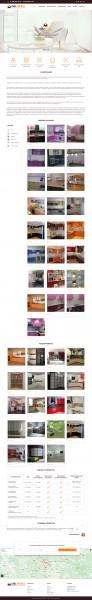Сайт по продаже мебели на MODX