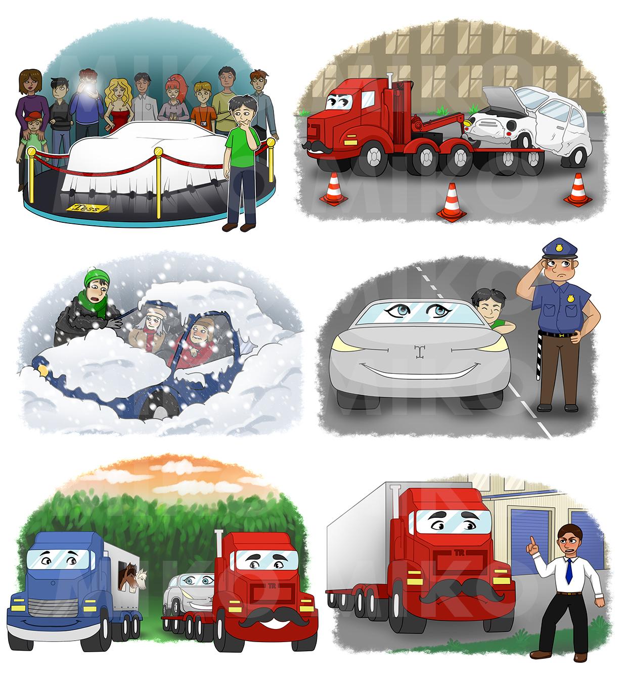 Иллюстрации для рассказа