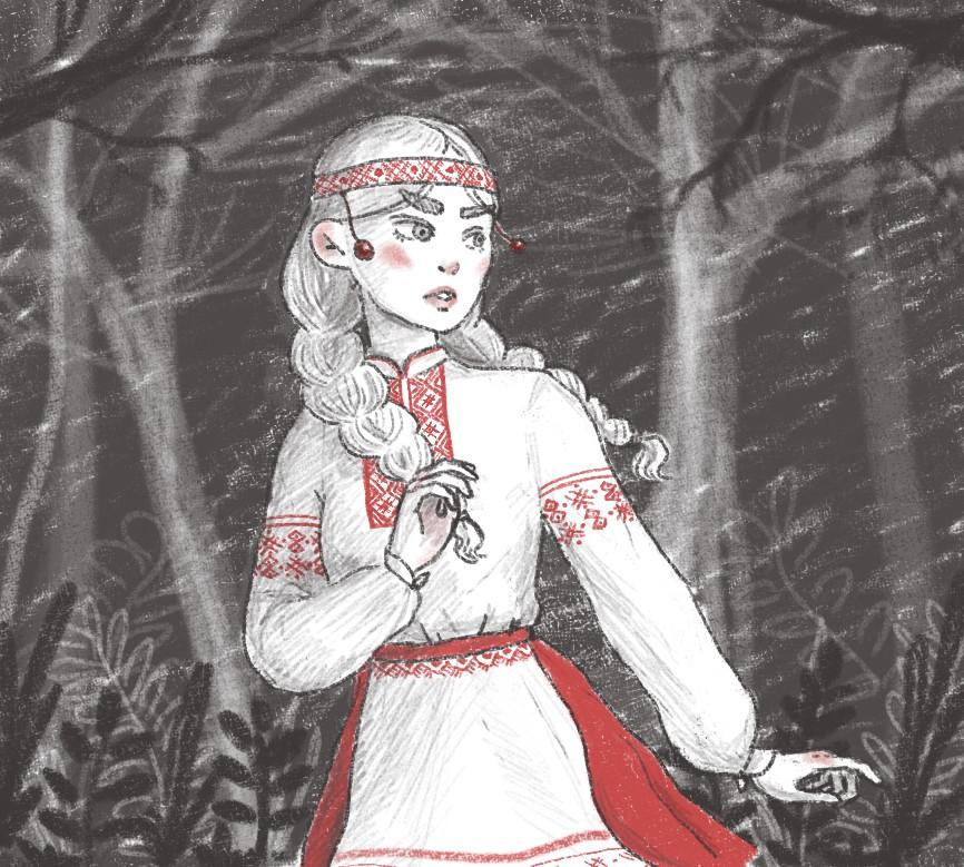 Белорусские сказки картинки для срисовки