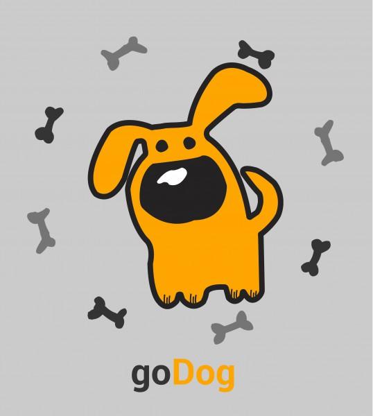 """Логотип для приложения """"goDog"""""""