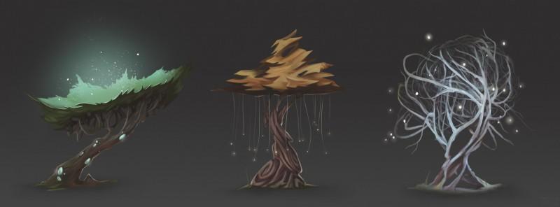 Концепт деревьев