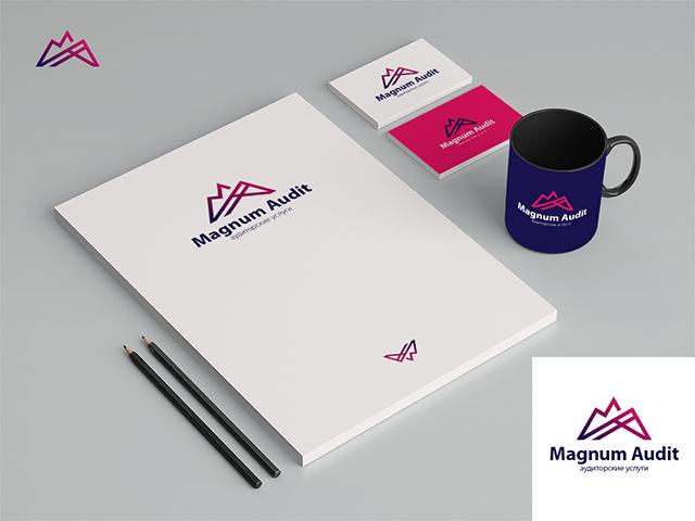 ПОБЕДА В КОНКУРСЕ. Логотип для компании Магнум Аудит