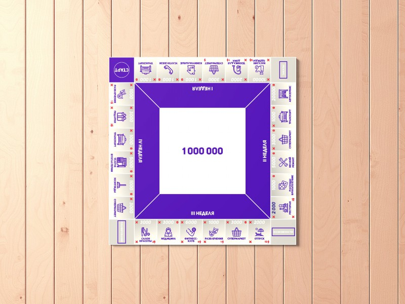 дизайн игрового поля