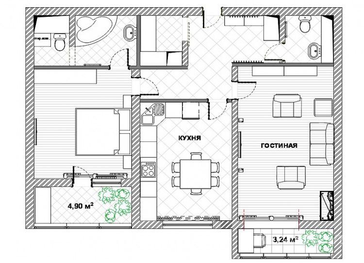 Картинки квартиры схематично