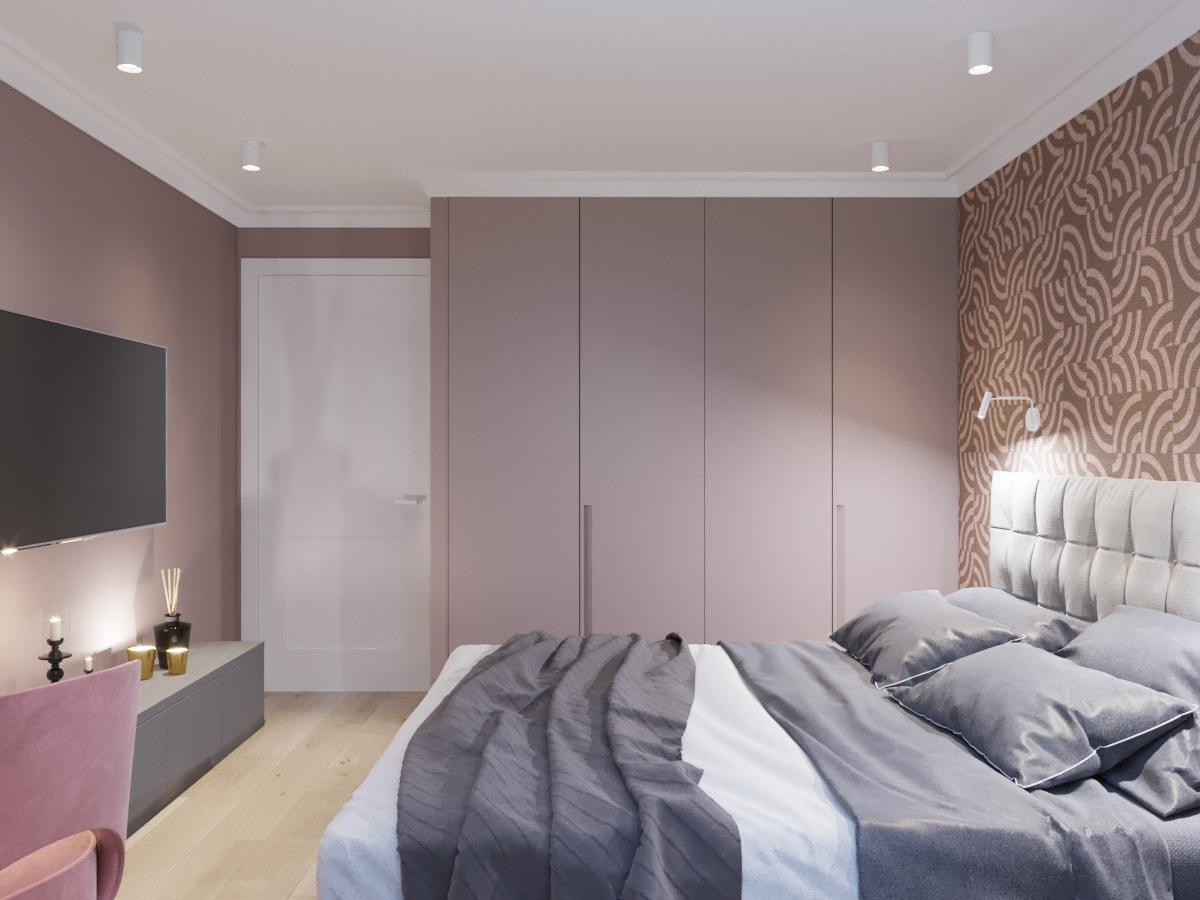 Дизайн спальни для молодой пары фото завесы