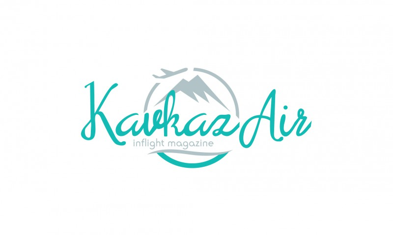 """Логотип бортового журнала """"Kavkaz Air"""""""