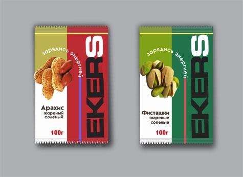 Упаковка для соленых орехов