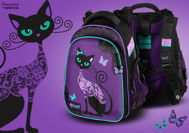Black Cat Backpack