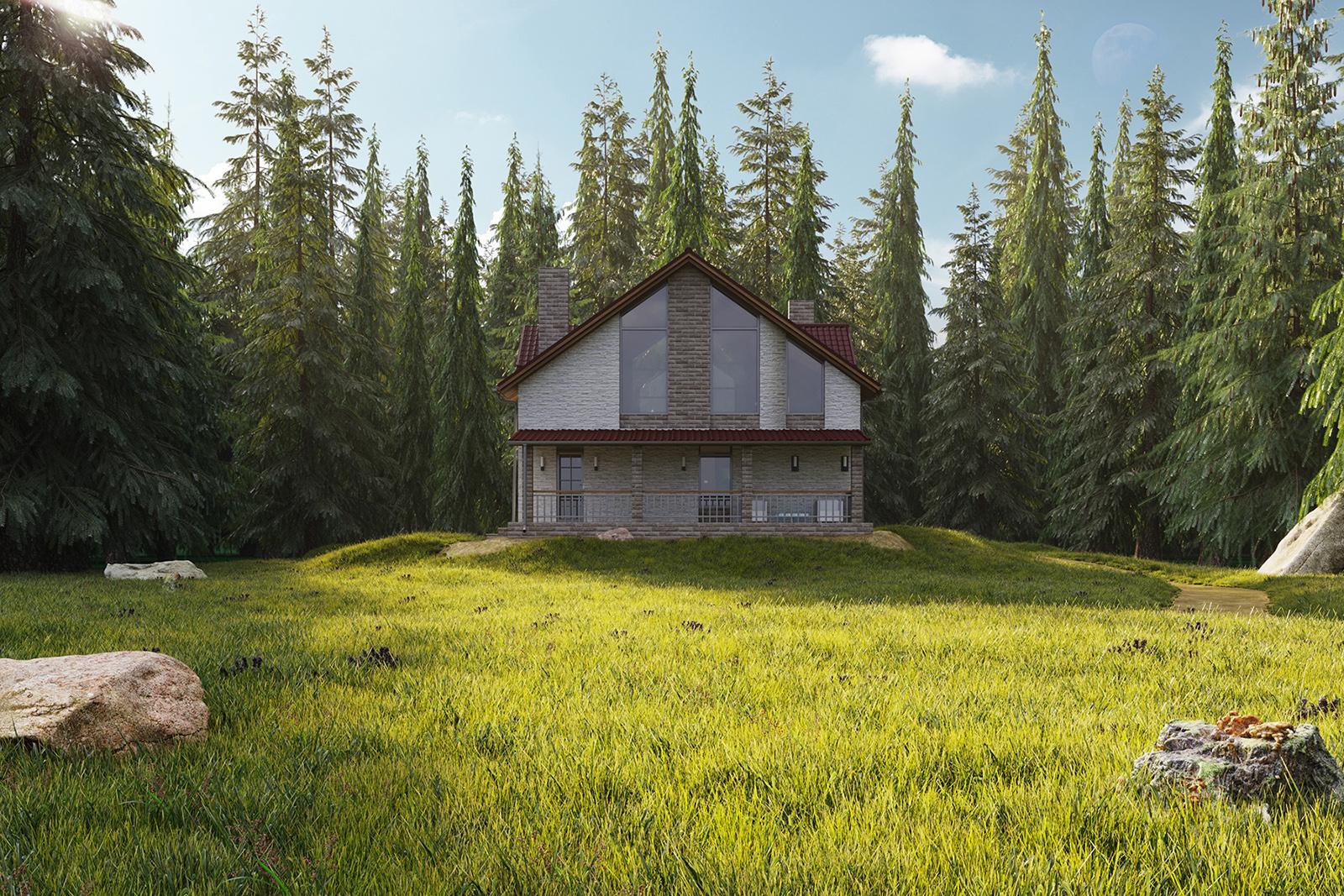 обычный дом в лесу фото внутри можно использовать любом