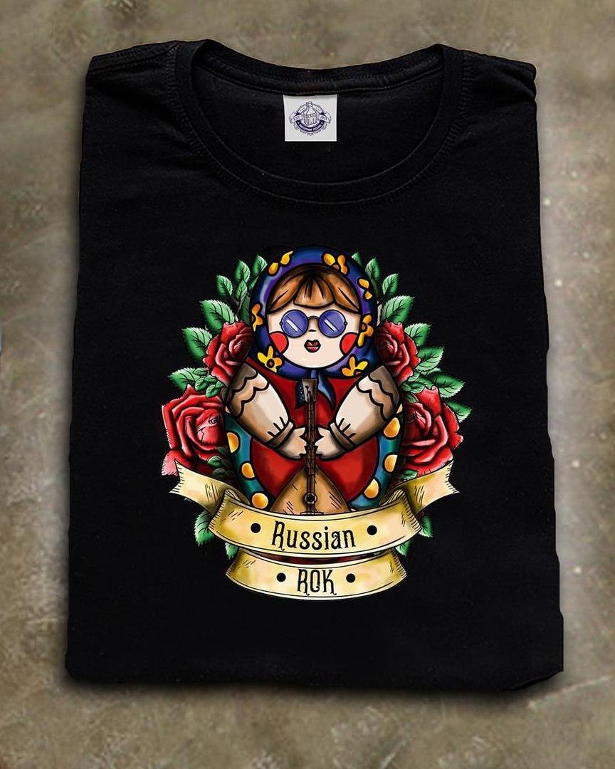 Принт на майку Russian Rok