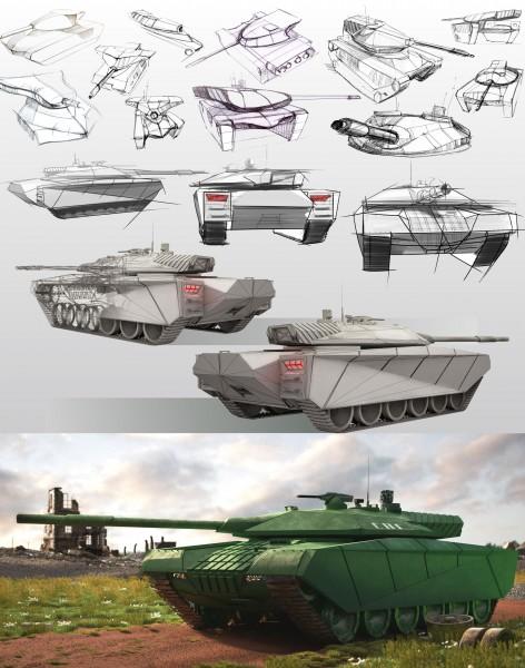 """Средний танк"""
