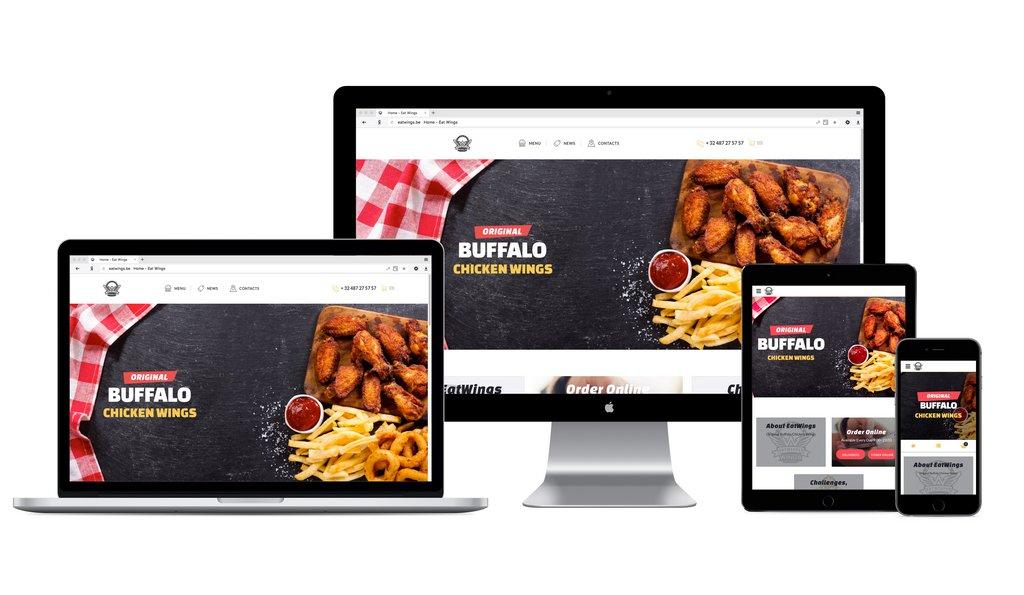Заказ острых крыльев онлайн (интернет-магазин под ключ)