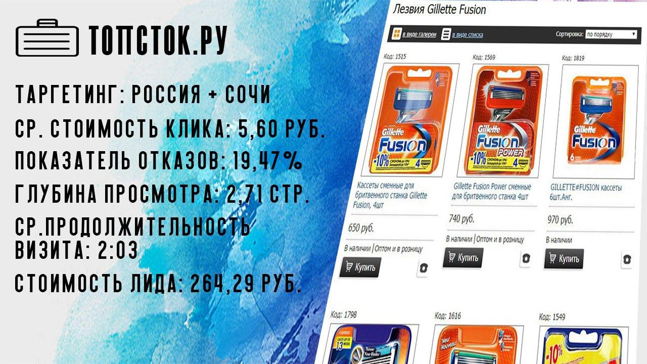 Интернет-магазин Топсток.Ру
