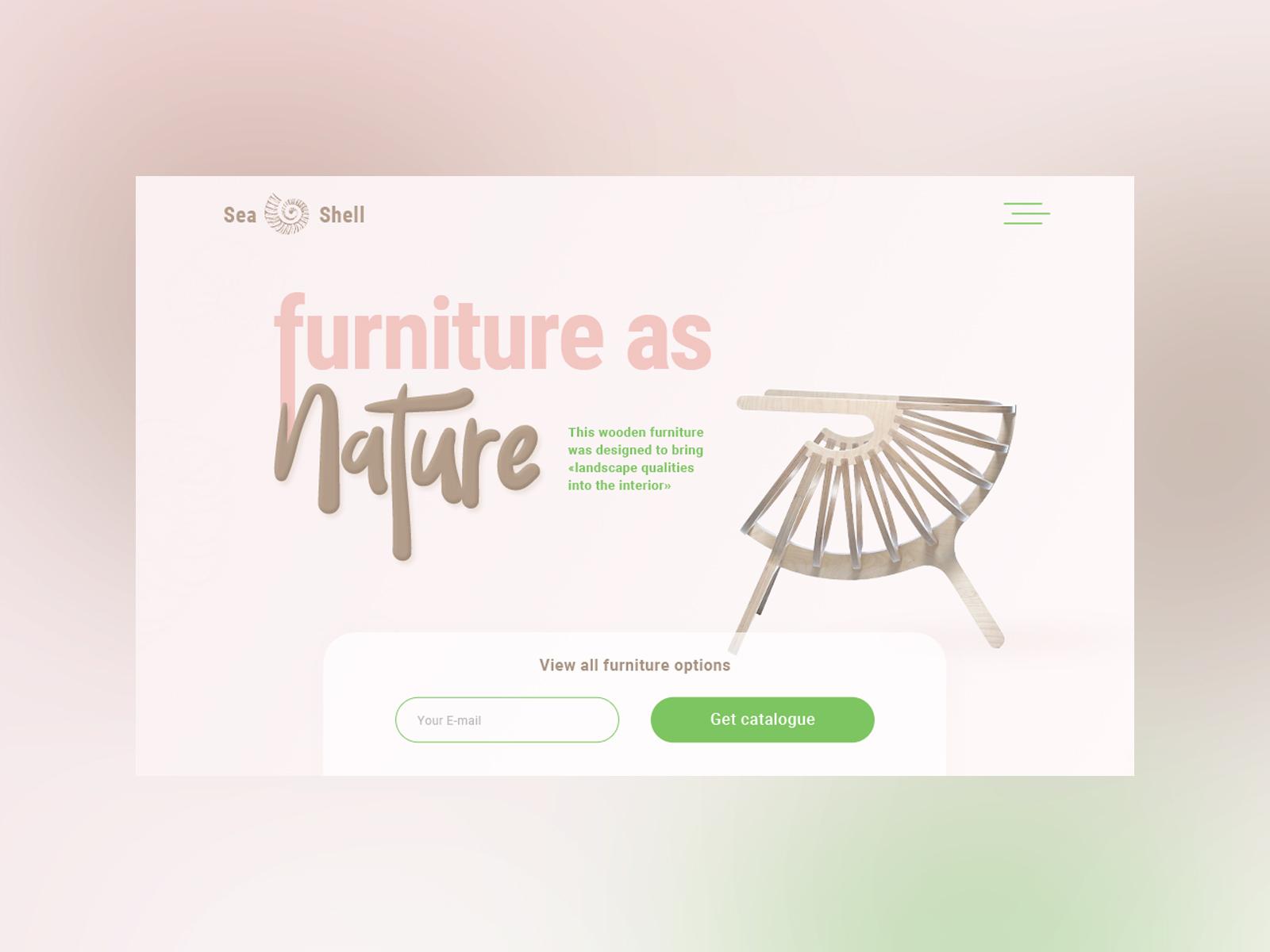 Landing-page для продвижения кастомной мебели