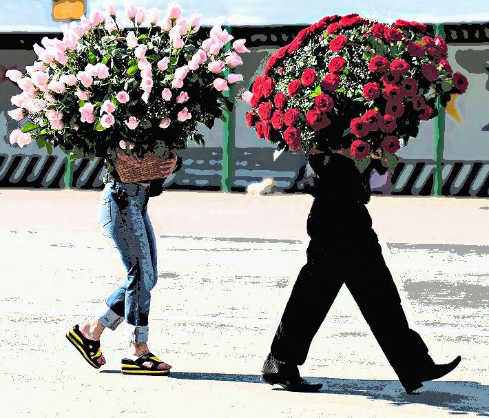 Дарите женщинам цветы