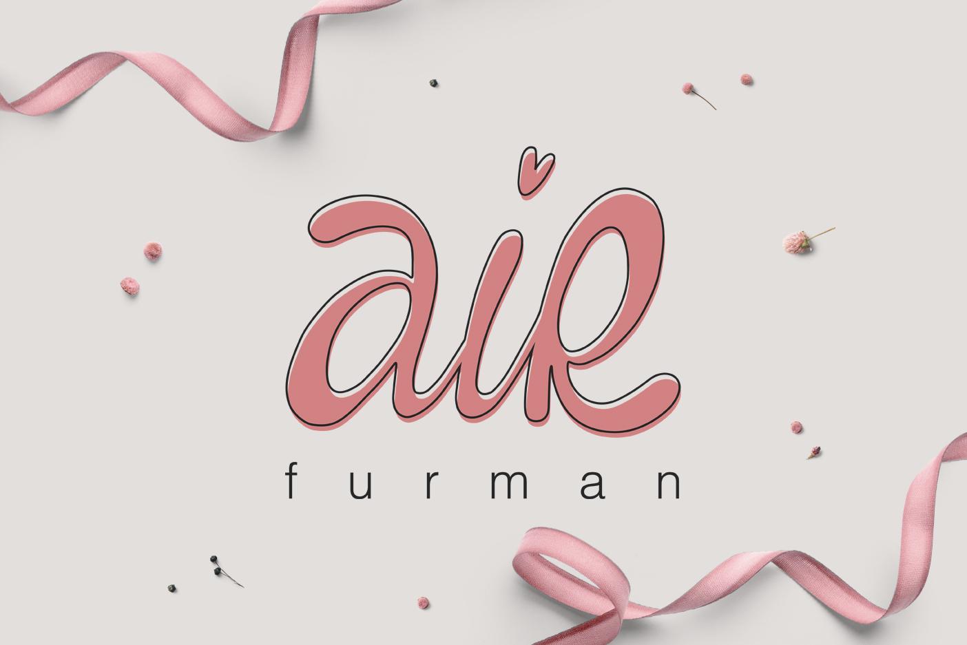 """Разработка логотипа для студии дизайна """"AiR Furman"""""""