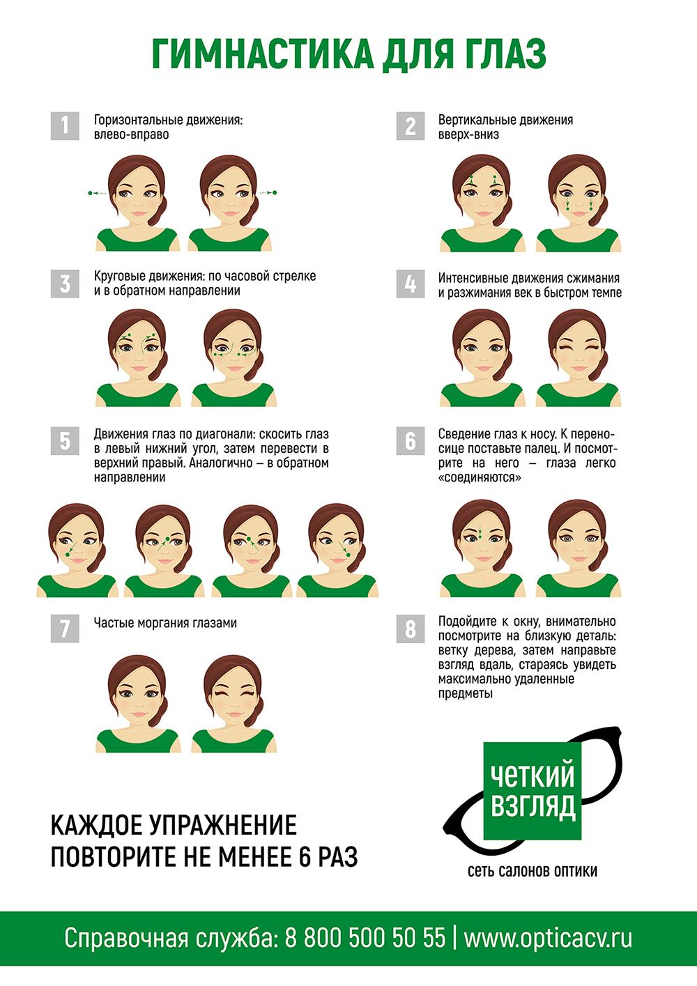 Плакат для оптики